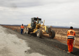 Road construction and quarry 2016