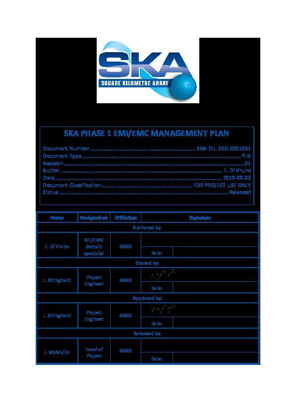 ANNEXURE T SKA-TEL-SKO-0001031-01_SKAPhase1EMI-EMCManagementPlansigned.pdf