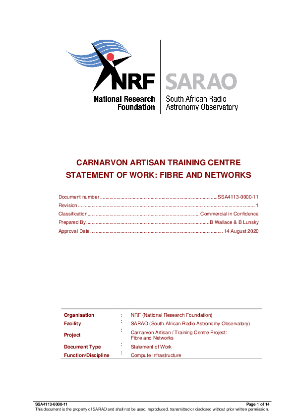Annexure F - CATC SOW Fibre and Networks.pdf