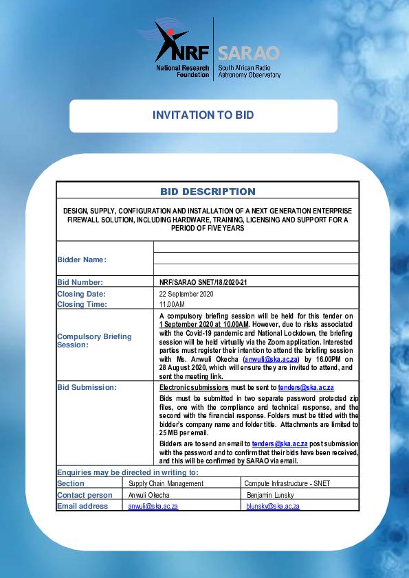 NRF-SARAO-SNET-18-2020-21-DESIGN-SUPPLY-CONFIGURATION-AND-INSTALLATION-OF-A-NEXT-GENERATION-ENTERPRISE-FIREWALL-SOLUTION.pdf