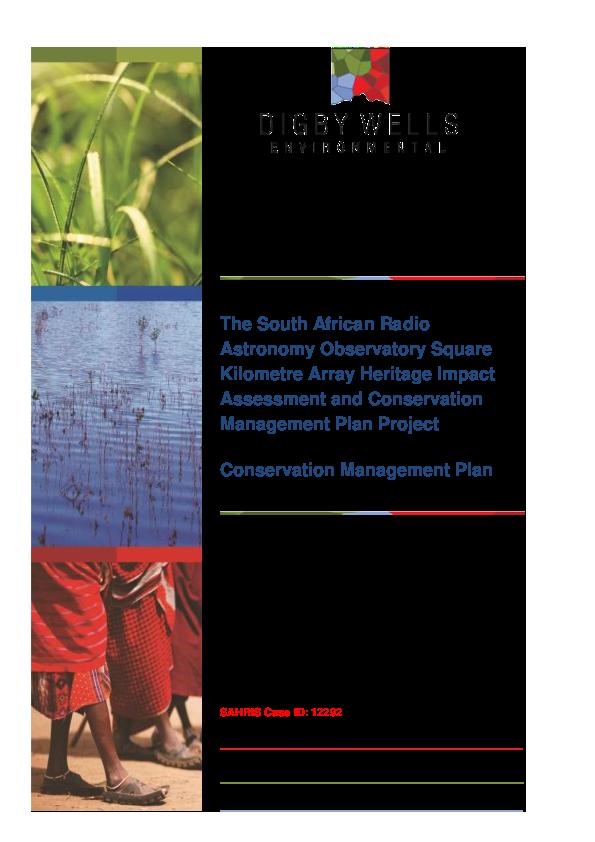 ANNEXURE O Conservation Management Plan.pdf
