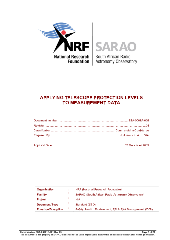 ANNEXURE J SSA-0008A-038 Rev 01 Applying Telescope Protection Levels - signed.pdf